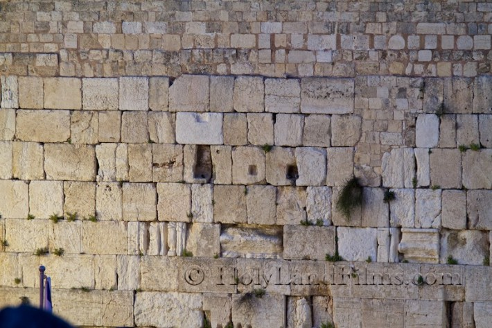 Western Wall close up